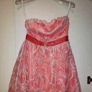 3/$50 Minuet Coral Dress